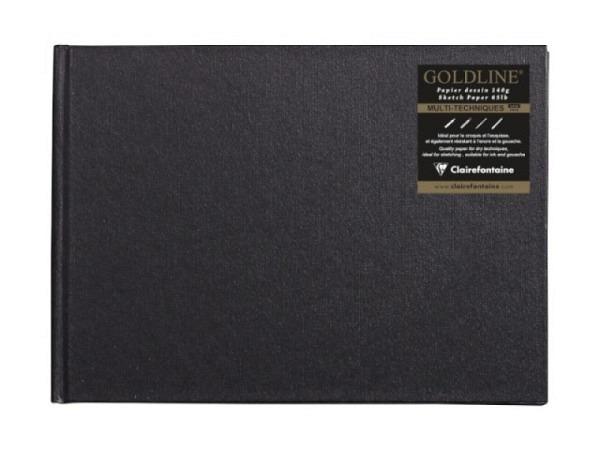 Skizzenbuch Semikolon Petit Voyage 10x14,4cm schwarz
