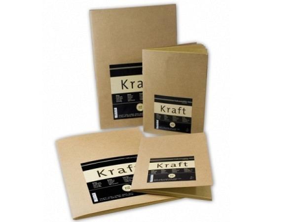 Skizzenheft Hahnemühle Kraft Paper A5 20Blatt 120g/qm