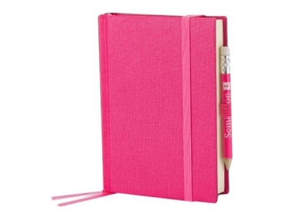 Skizzenbuch Semikolon Petit Voyage 10x14,4cm pink