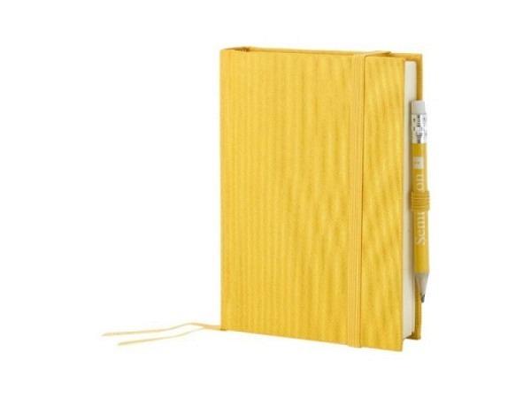 Skizzenbuch Semikolon Petit Voyage 10x14,4cm sonnengelb