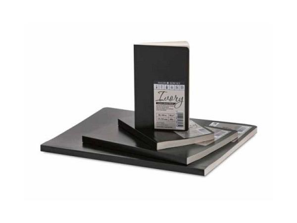 Skizzenbuch Daler-Rowney Ivory Softcover schwarz A4 78Bl 90g
