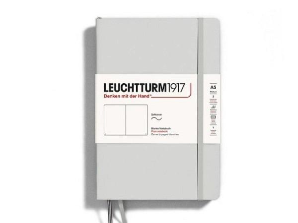 Skizzenbuch Leuchtturm Composition blanko anthrazit, Softcover, 80g/qm