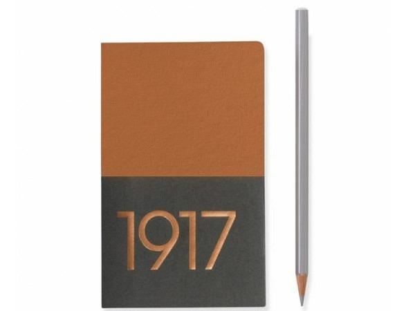 Skizzenbuch Leuchtturm Metallic Edition Jottbook Pocket kupfer