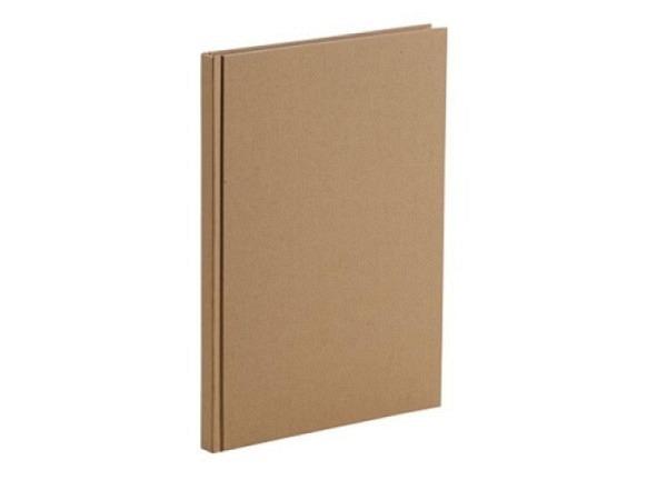 Skizzenbuch Rössler Soho gebunden A4 kraft braun