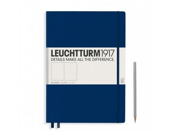 Skizzenbuch Leuchtturm Master Classic blanko marineblau