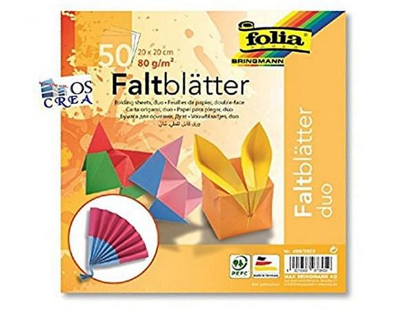 Origami Folia Duo 20x20cm 50 Blatt