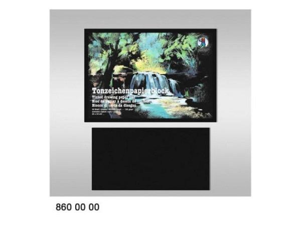 Glanzpapierheft Ursus gummiert 20x30 farbig