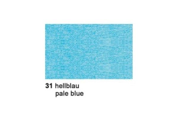 Krepp Ursus 50cmx2,5m hellblau