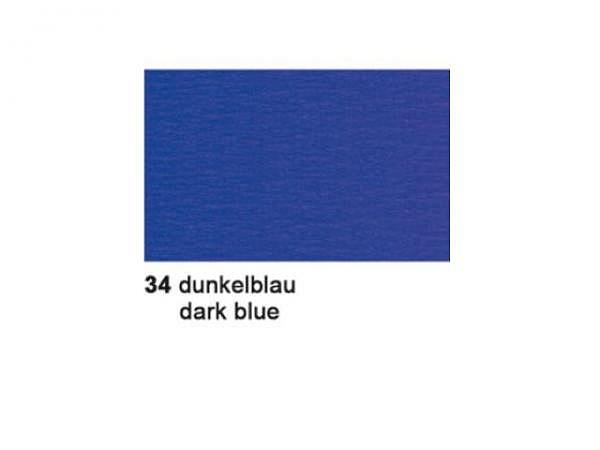 Krepp Ursus 50cmx2,5m dunkelblau