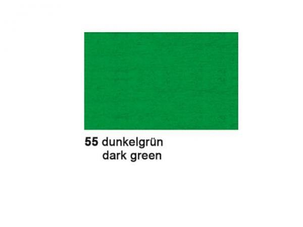 Krepp Ursus 50cmx2,5m dunkelgrün