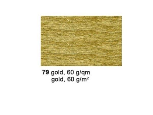 Krepp Ursus 50cmx2,5m gold