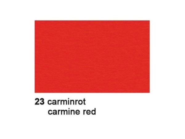 Tonzeichenpapier Ursus A4 130g/qm karminrot 100 Blatt