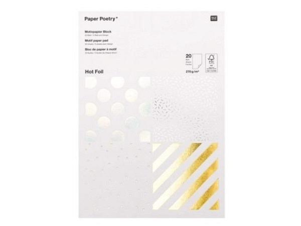 Scherenschnittpapier Ursus schwarz 35x50cm, 1 Blatt, 80g/qm