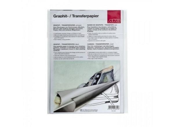Graphitpapier AMI A4 mit 20Blatt zum Übertragen