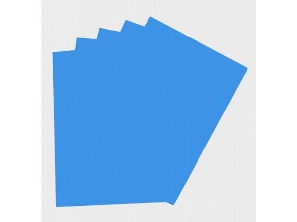 Moosgummi Folia 2mm dick 20x29cm blau, aus EVA,