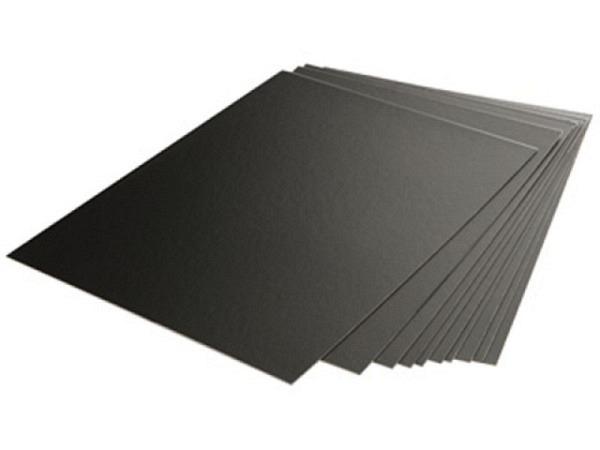 Schabkarton Essdee 10,1x15,2cm ca. A6, schwarze Oberfläche