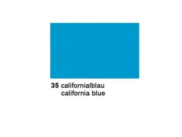 Tonzeichenpapier Ursus A4 130g/qm californiablau 100 Blatt