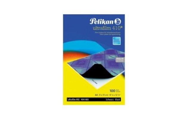 Kohlepapier Pelikan schwarz A4 Pk. à 100 Blatt