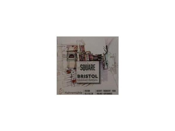 Bristolblock Hahnemühle Square 250g/qm 25Blatt hochweiss,10,5x10,5cm