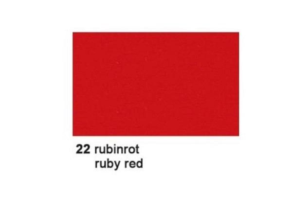 Fotokarton A4 21x29,7cm rubinrot 300g/qm 100% Altpapier