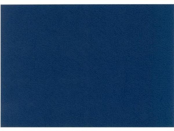 Karton DFH einseitig geprägt 0,8mm A4 blau