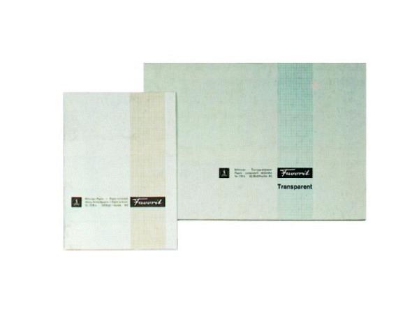 Millimeterpapier Favorit A4 80g braun/weiss 25Bl.