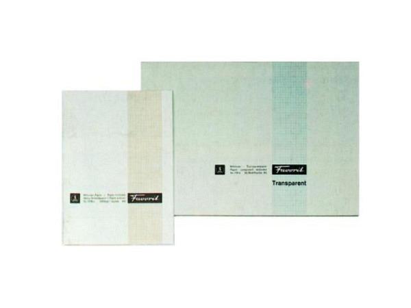 Millimeterpapier Favorit A4 80g blau/weiss 25Bl.