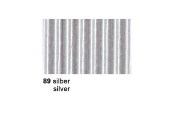 Wellkarton 50x70cm silber