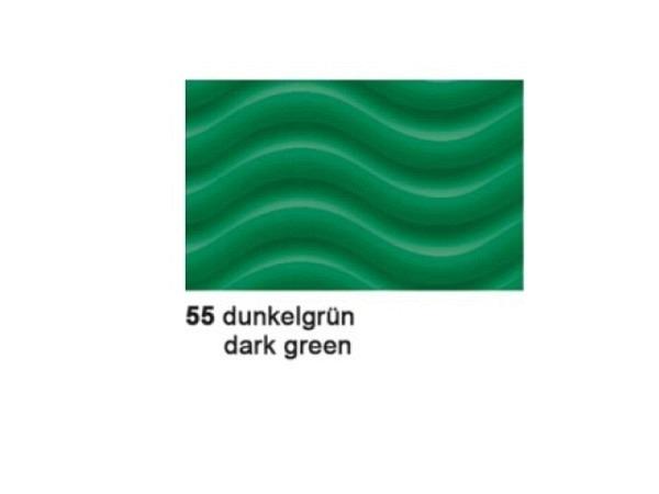 Wellkarton 50x70cm 3D dunkelgrün