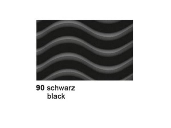 Wellkarton 50x70cm 3D schwarz