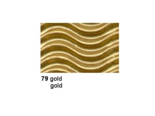 Wellkarton 50x70cm 3D gold
