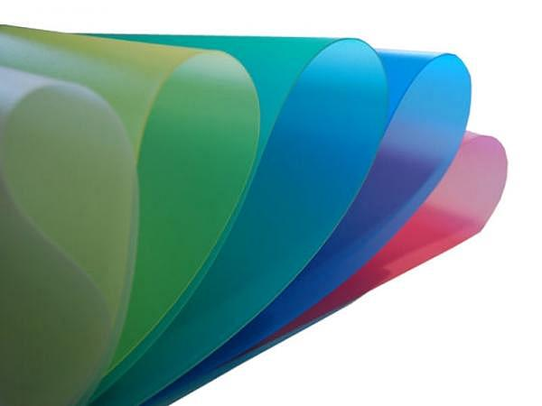 Folie Axprint 65x110cm 0,8mm transparent rot Kunststoff (PP)