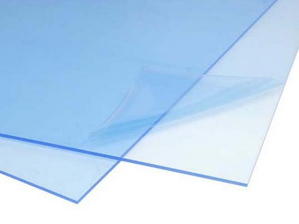Plexiglas A3 2mm mit beidseitiger Schutzfolie, XT