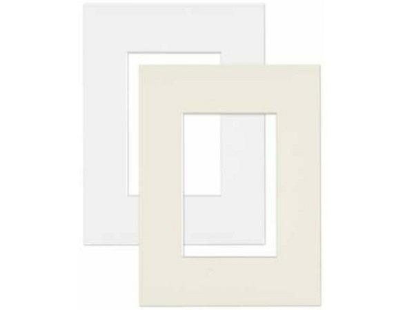 Passepartout AMI a: 50x70cm i: 28,3x43,3cm eckig extraweiss