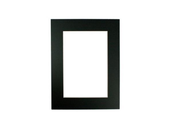 Passepartout AMI a: 30x40cm i: 18,9x28,9cm eckig schwarz