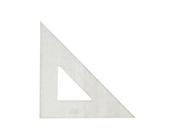 Winkel Akryla 60Grad 21cm ohne Skala ohne TKante