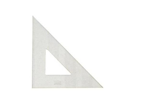 Winkel Akryla 45Grad 42cm, Akrylglas, Kanten poliert