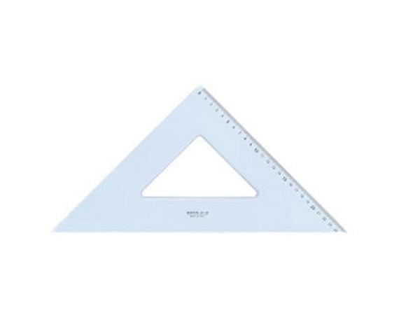 Winkel Arda Uni 45Grad 35cm Hypotenuse, Skala