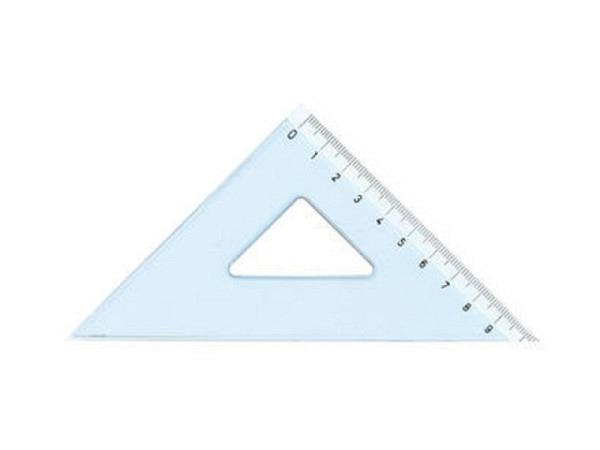 Winkel Arda Uni 45Grad 15cm Hypotenuse, Skala
