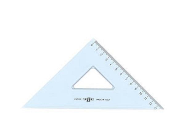 Winkel Arda Uni 45Grad 20cm Hypotenuse, Skala