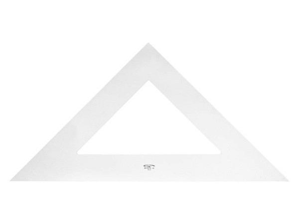 Winkel DFH Junior 45Grad 30cm Hypotenuse, Skala auf Kathete