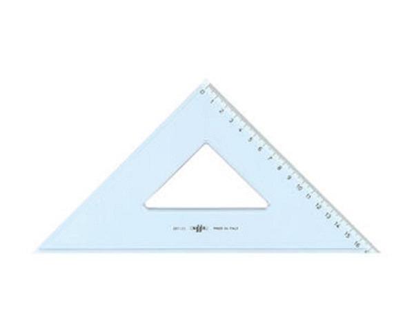 Winkel Arda Uni 45Grad 25cm Hypotenuse, Skala