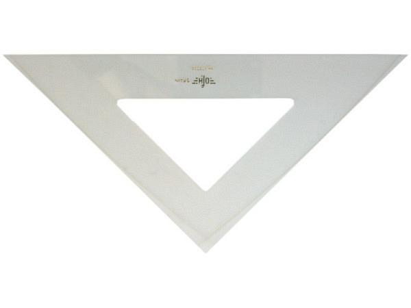 Winkel DFH Akryl 45Grad 30cm Hypotenuse,ohne Skala