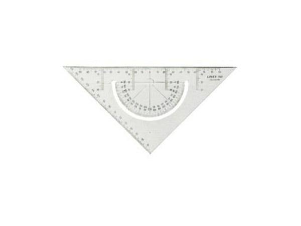 Winkel Linex Dunilex Duo-Combi Geodreieck 45°, 22,5cm