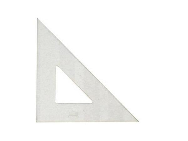 Winkel Akryla 45Grad 21cm ohne Skala ohne Tuschkante