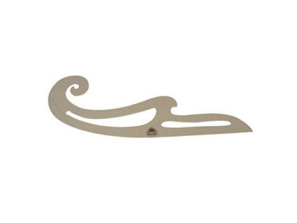 Kurvenlineal Sieco Burmester 41cm, aus Plexiglas