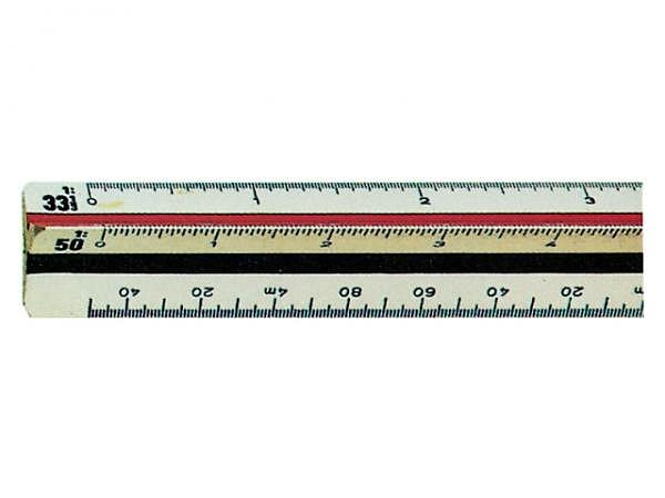 Reduktionsmassstab Rumold Ingenieur DIN 1:2,5/5/10/20/50/100