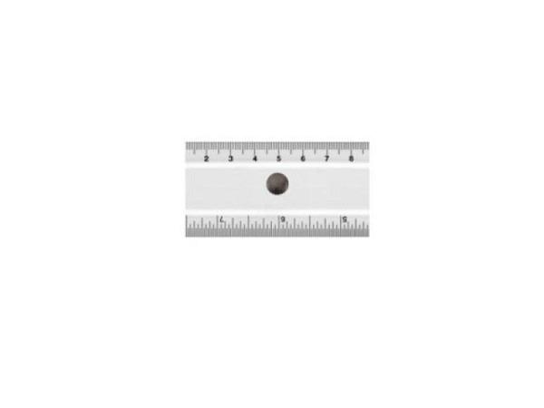 Reduktionsmassstab Akrylglas  1:50 / 1:100