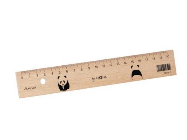 Massstab Büroline Holz natur 20cm