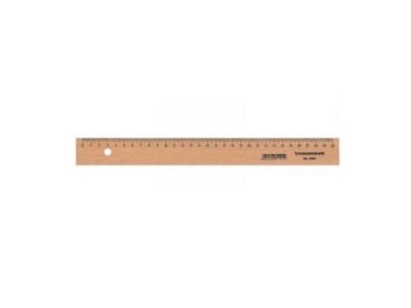 Massstab Büroline Holz natur 17cm
